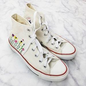 Converse|All Star DIY Painted Mini Flower Hi-Tops